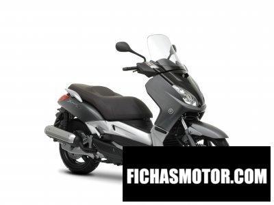 Ficha técnica Yamaha x-max 125 2009