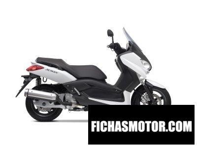 Ficha técnica Yamaha x-max 125 2010