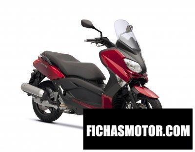 Ficha técnica Yamaha x-max 125 2011