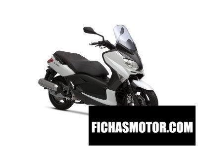 Ficha técnica Yamaha x-max 125 2012
