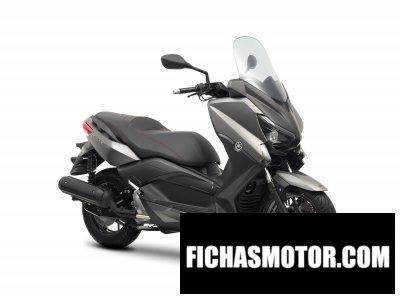 Ficha técnica Yamaha x-max 125 2014