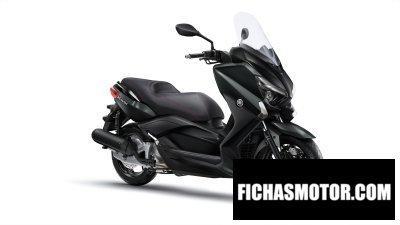 Ficha técnica Yamaha x-max 125 2016