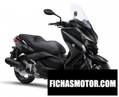 Ficha técnica Yamaha x-max 125 2017