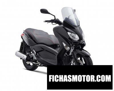 Ficha técnica Yamaha x-max 250 2011