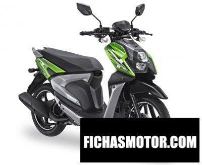 Ficha técnica Yamaha x-ride 125 2018