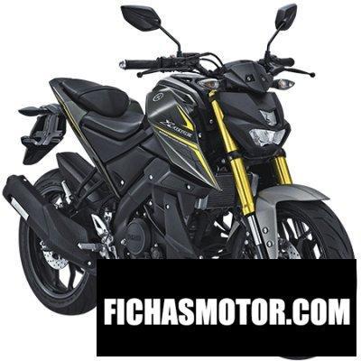 Ficha técnica Yamaha xabre 2018