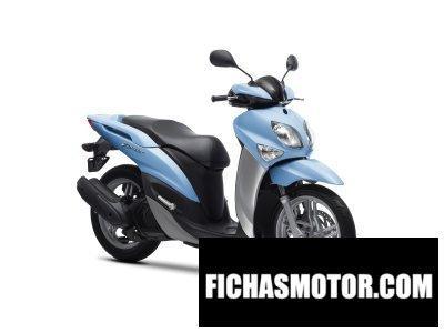 Ficha técnica Yamaha xenter 125 2012