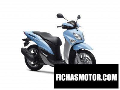Ficha técnica Yamaha xenter 125 2014