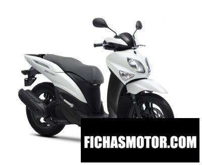 Ficha técnica Yamaha xenter 125 2015