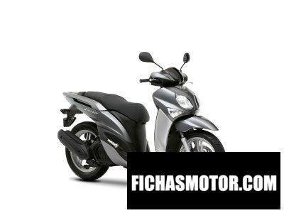 Ficha técnica Yamaha xenter 125 2016