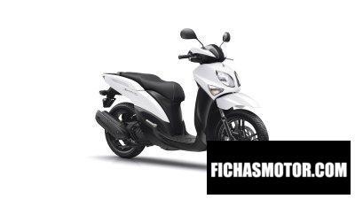 Ficha técnica Yamaha Xenter 125 2019