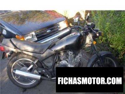 Imagen moto Yamaha xj 400 seca año 1981