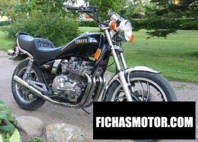 Imagen moto Yamaha xj 550 año 1982