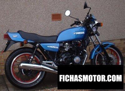 Ficha técnica Yamaha xj 550 1983