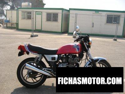 Ficha técnica Yamaha xj 550 1984