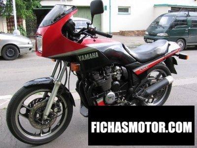 Ficha técnica Yamaha xj 600 1986