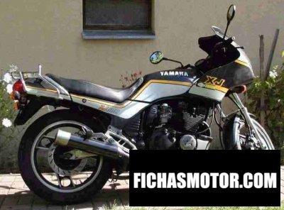 Ficha técnica Yamaha xj 600 1988