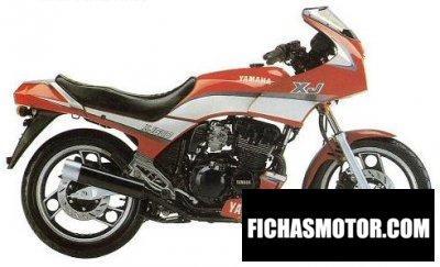 Ficha técnica Yamaha xj 600 1989