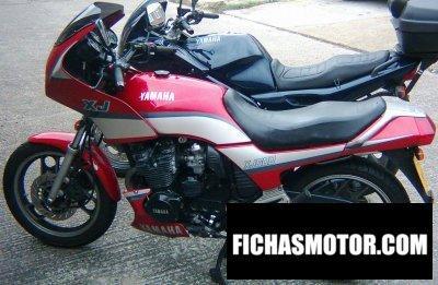 Imagen moto Yamaha xj 600 año 1990