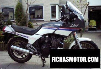 Ficha técnica Yamaha xj 600 1991