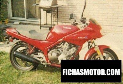 Ficha técnica Yamaha xj 600 diversion 1993