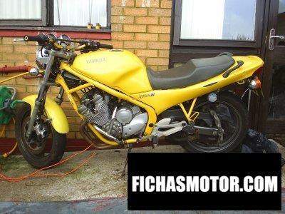 Ficha técnica Yamaha xj 600 n 1995