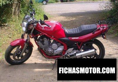 Imagen moto Yamaha xj 600 n año 1997