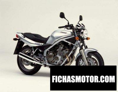 Ficha técnica Yamaha xj 600 n 2001