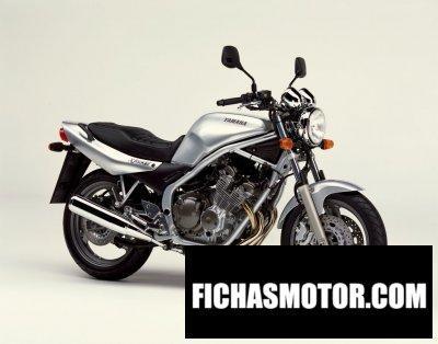 Ficha técnica Yamaha xj 600 n 2002