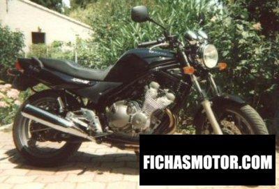 Ficha técnica Yamaha xj 600 n diversion 1998