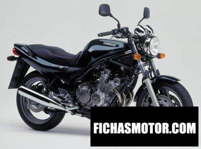Ficha técnica Yamaha xj 600 n diversion 2000