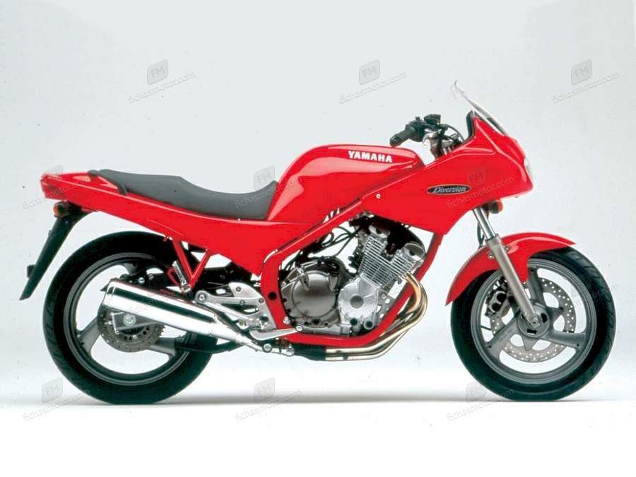 Ficha técnica Yamaha xj 600 s diversion 1992