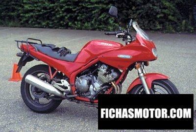 Ficha técnica Yamaha xj 600 s diversion 1999