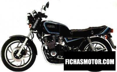 Imagen moto Yamaha xj 650 año 1980
