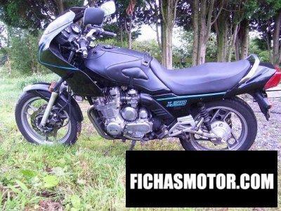 Imagen moto Yamaha xj 900 f año 1989
