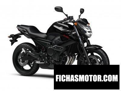 Ficha técnica Yamaha xj6 2011