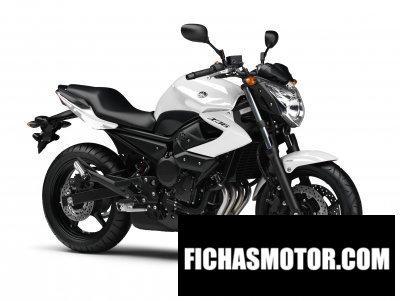 Ficha técnica Yamaha xj6 2012