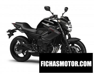 Ficha técnica Yamaha xj6 2013