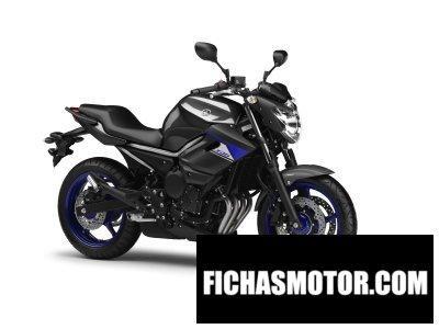 Ficha técnica Yamaha xj6 2014