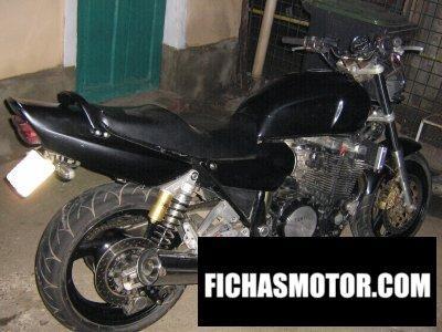 Ficha técnica Yamaha xjr 1200 1995