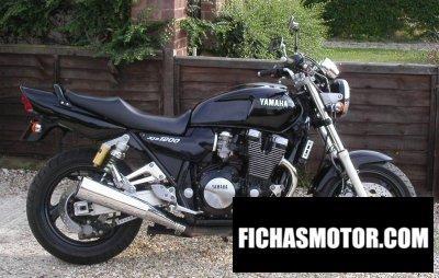 Ficha técnica Yamaha xjr 1200 1996
