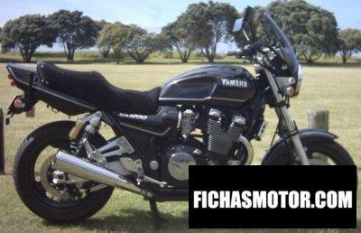 Ficha técnica Yamaha xjr 1200 1998