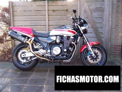 Ficha técnica Yamaha xjr 1300 1999