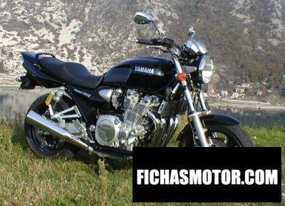 Ficha técnica Yamaha xjr 1300 2001