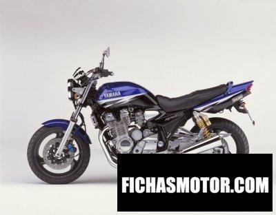 Ficha técnica Yamaha xjr 1300 2002