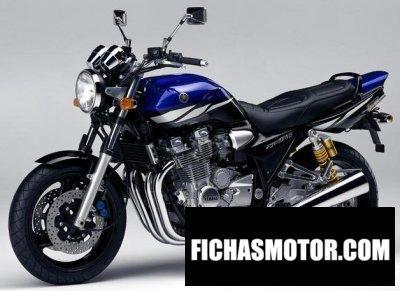 Ficha técnica Yamaha xjr 1300 2003