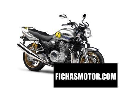 Ficha técnica Yamaha xjr 1300 2009