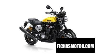 Ficha técnica Yamaha xjr1300 2016