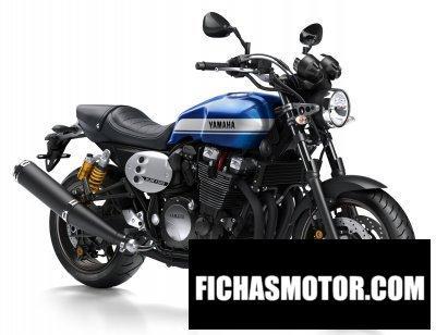 Ficha técnica Yamaha xjr1300 2017