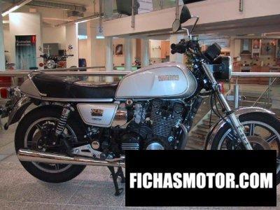 Ficha técnica Yamaha xs 1100 1979